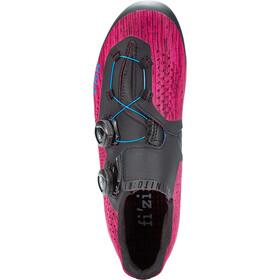 Fizik Infinito R1 Knit Chaussures pour vélo de route, purple knitted/blue